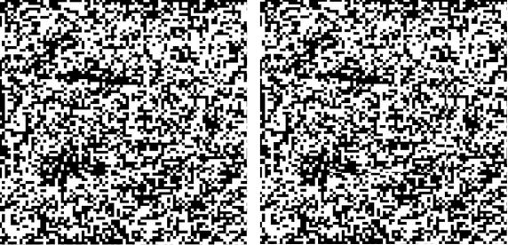 Random Dot Stereogram